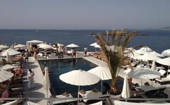 Utsikt över Puro Beach.