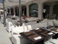 Restaurangen på Puro Beach.